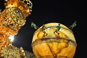 More from the Vila Isabel samba school