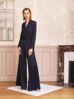 From this day forwardCreated as an alternative for bridesmaid outfits, Les Heroines takes elegant occasional wear to the next level. Each piece is named after a female figure in history. Jumpsuit, £450, lesheroines.com