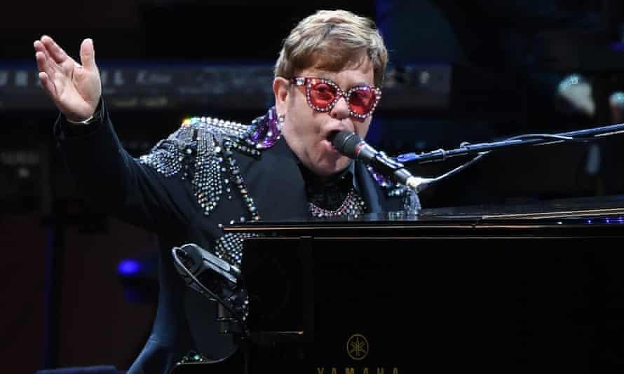 Elton John was awarded the Companion of Honour.