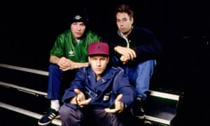 Beastie Boys: Ad-Rock, Mike D and MCA.