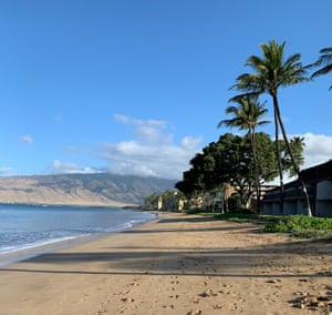 Sugar Beach in Kihei, Maui, HI