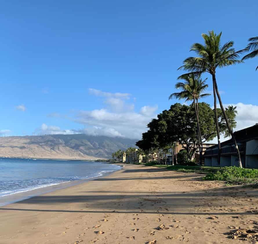 Sugar Beach in Kihei, Maui, HI