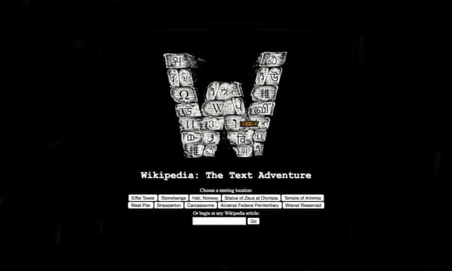 Wikipedia The Text Adventure