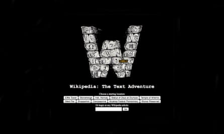 Wikipedia The Text Adventure