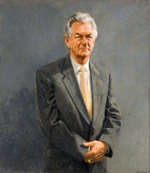 The Hon. Robert James Lee Hawke AC GCL, 1992.Bill Leak (born 1956)