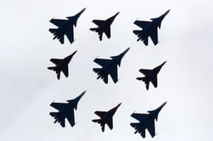 Moscow region, Russia fighter jets