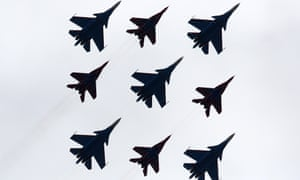Russian fighter planes