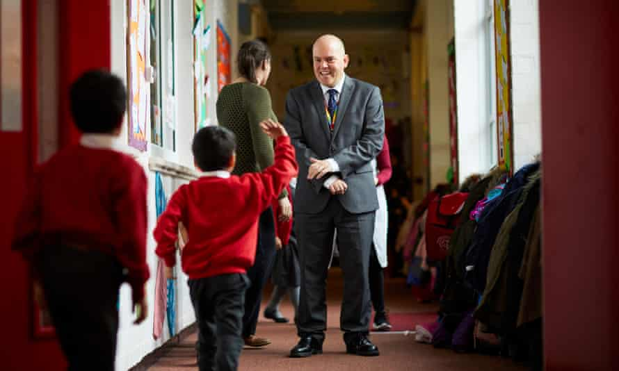 Andrew Moffat, assistant headteacher, said he was targeted via a leaflet campaign after the school piloted the No Outsiders programme.