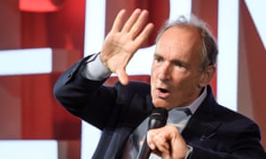 Tim Berners-Lee, the inventor of the world wide web