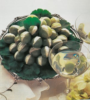 Stuffed Cocktail grapes