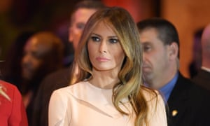 Julia Ioffe, the Russian-American journalist who profiled Melania Trump (pictured), received photos on Twitter of her face superimposed on a mug shot from Auschwitz.