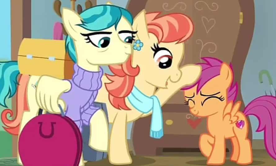Aunt Holiday and Auntie Lofty, My Little Pony's first same-sex couple