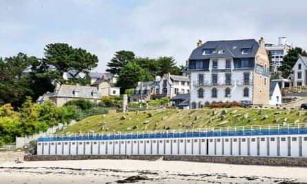 Pavillon de la plage, Brittany