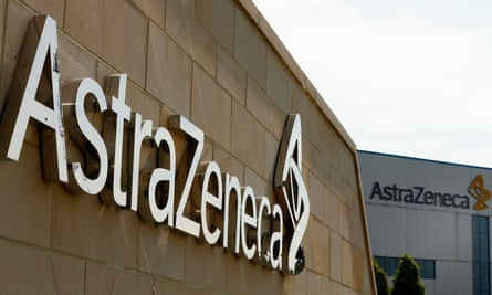 One of AstraZeneca's sites in Macclesfield