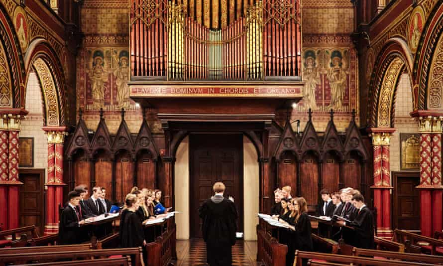 The Choir of King's College London.
