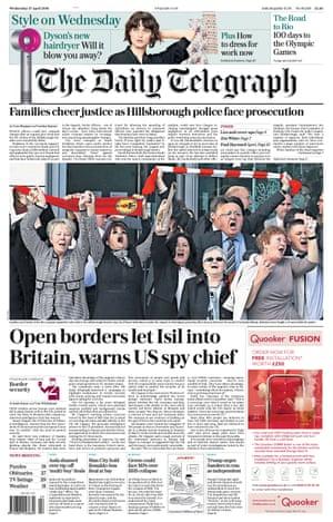 Daily Telegraph - 27 April 2016