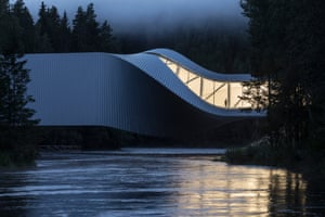 The Twist Museum, Kistefos Sculpture Park, Jevnaker, Norway by Bjarke Ingels Group, shortlisted in the Exterior category