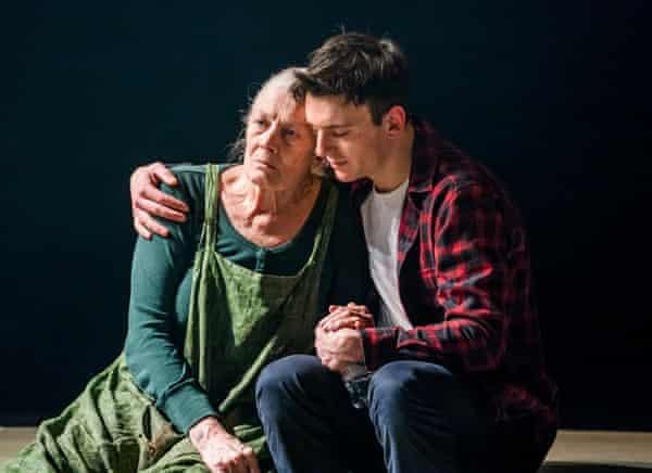 Vanessa Redgrave (Margaret) and Samuel H Levine in The Inheritance.