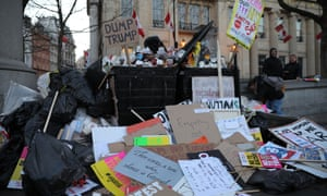 Today's placards, tomorrow's recycling ... but you can keep the momentum going.