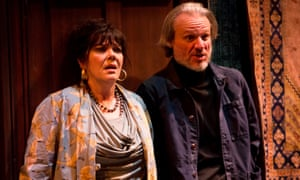 Comic instinct … Josie Lawrence as despairing wife Madeleine, with Trevor Fox as Amédée.