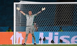 Clean sheet: Sweden's goalkeeper Robin Olsen reacts after the final whistle.