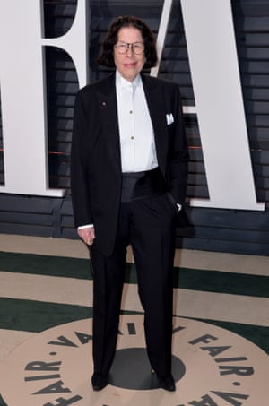 Lebowitz at the Vanity Fair Oscars party in 2017.