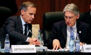 Mark Carney and Philip Hammond