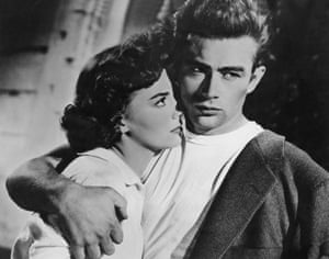 Natalie Wood and James Dean in Rebel Without a Cause.