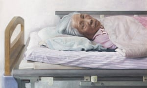 Detail from Bo Wang's work Silence