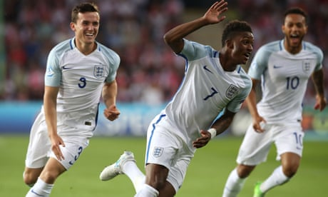 England's Demarai Gray steps from bench to seize centre stage