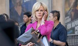 Nicole Kidman as Gretchen Carlson in Bombshell.