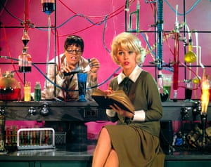Jerry Lewis and Stella Stevens in The Nutty Professor, 1963