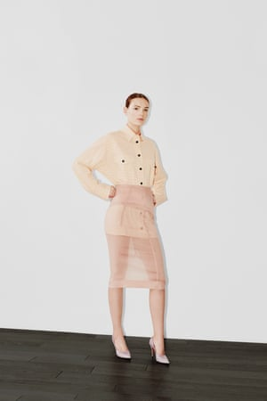 Neutral tones and diaphanous fabrics are the perfect light addition to your spring wardrobe