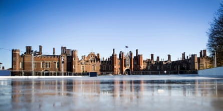 Historic and spectacular … Hampton Court ice skating rink.