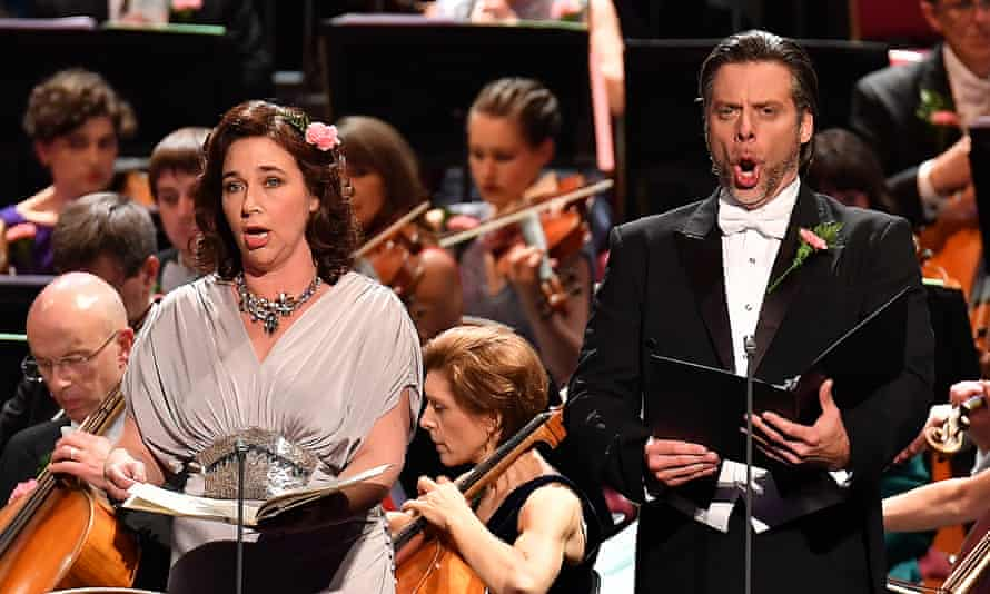 Perfectly in tune... the Last Night of the Proms 2017.