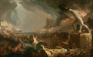 The Course of Empire: Destruction, 1836, by Thomas Cole