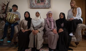 My Week as a Muslim: Katie is third from right