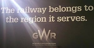 The offending GWR advert.