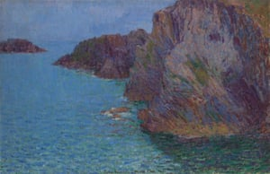 Calm sea at Morestil Point (1901), by John Russell