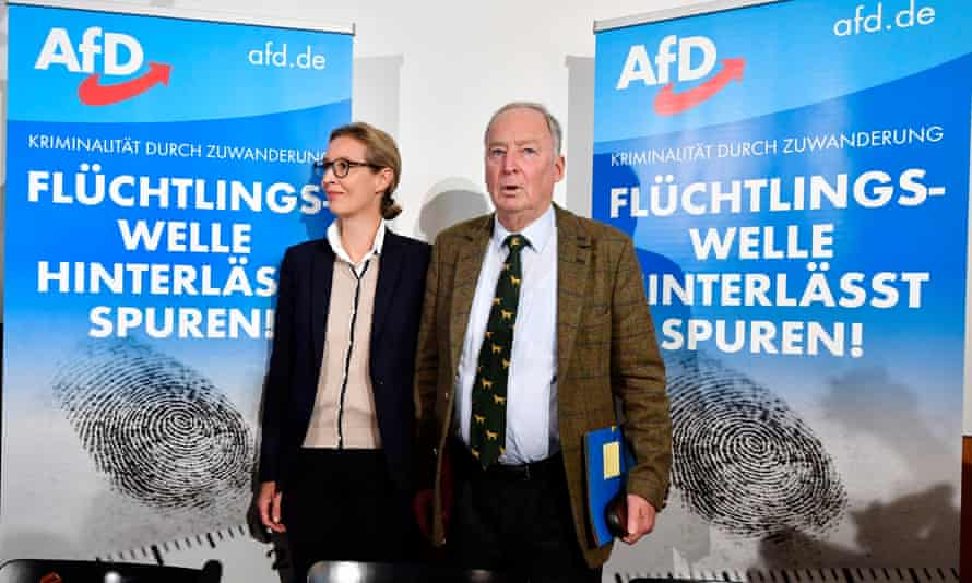 Alexander Gauland and Alice Weidel