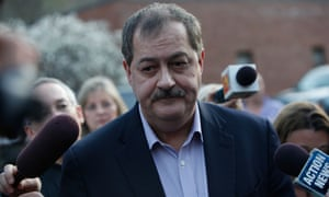 Don Blankenship, a former mining CEO and candidate for the West Virginia primary.