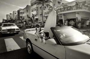Ocean Drive, South Beach, 1992