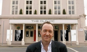 Kevin Spacey outside the Old Vic in 2004.