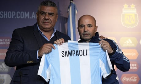 Jorge Sampaoli leaves Sevilla to take over as Argentina manager