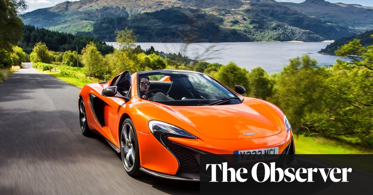 mclaren 650s spider: car review | martin love | technology | the