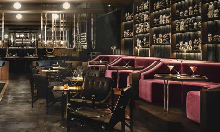 Gordon Ramsay's Lucky Cat restaurant, Mayfair