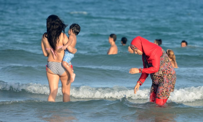 065b3b07a87 Nice becomes latest French city to impose burkini ban | World news | The  Guardian