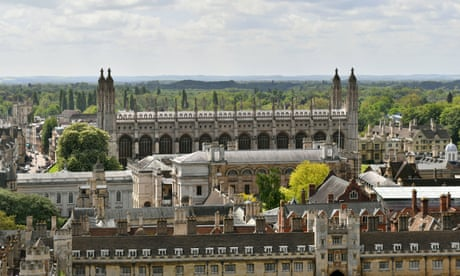Students accuse Cambridge university of 'greenwashing' ties with oil firms