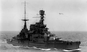 HMS Repulse, photographed in 1926.