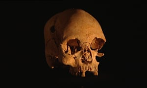The 11,500-year-old skull of the Luzia Woman, the oldest skull to be discovered on the American continent.
